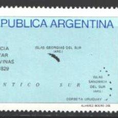 Francobolli: ARGENTINA, 1982 YVERT Nº 1295 / 1296 /**/, GOBERNACIÓN DE LA ISLA MALVINAS POR ARGENTINA. Lote 207553642