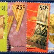 Sellos: ARGENTINA. LOTE DE 8 VALORES CORREO OFICIAL, EN USADOS. Lote 209146763