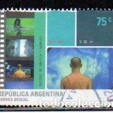 Sellos: ARGENTINA. SELLO DEL AÑO 2001, CORREO OFICIAL, EN USADO. Lote 209148090