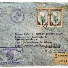 Francobolli: SOBRE EMBAJADA DE ESPAÑA EN BUENOS AIRES. AÑO 1964. CORRESPONDENCIA DIPLOMATICA.. Lote 215465015