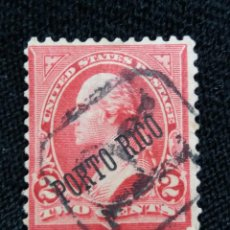 Sellos: UNITED STATES, PUERTO RICO, 2 CENTS, WASHINGTON, 1900.. Lote 217564013
