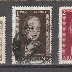 Sellos: ARGENTINA 1948 Y 1952 DIFERENTES EVA PERON. Lote 218537665