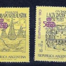 Sellos: ARGENTINA Nº 1691 AL 1694 (**). Lote 218968555