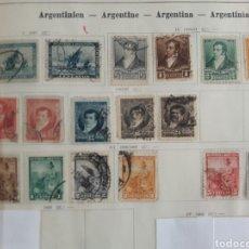 Sellos: LOTE DE 17 SELLOS ESTAMPILLAS ANTIGUAS DE ARGENTINA. Lote 219207406