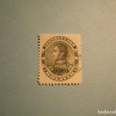 Sellos: VENEZUELA - INSTRUCCION BOLIVAR - 1 BOLIVAR, TIMBRE PÓLIZA TASA FISCAL - SOBRECARGA 1901.. Lote 221303133