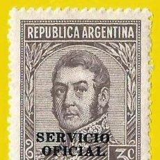 Francobolli: ARGENTINA. 1945. GENERAL JOSE DE SAN MARTIN. Lote 224831505