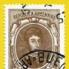 Francobolli: ARGENTINA. 1970. GENERAL JOSE DE SAN MARTIN. Lote 225010827