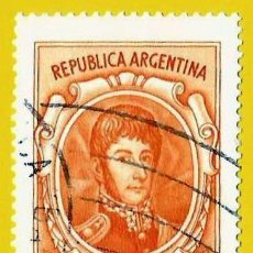Francobolli: ARGENTINA. 1973. GENERAL JOSE DE SAN MARTIN. Lote 225013422