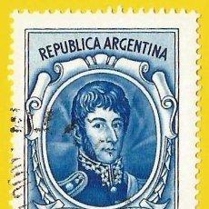 Francobolli: ARGENTINA. 1974. GENERAL JOSE DE SAN MARTIN. Lote 225013680