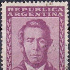 Sellos: 1957 - ARGENTINA - ESTEBAN ECHEVERRIA - YVERT 578. Lote 234959745