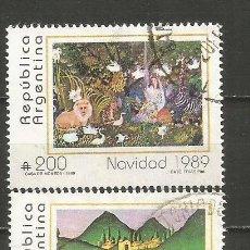 Sellos: ARGENTINA YVERT NUM. 1706/1707 SERIE COMPLETA USADA. Lote 235252245