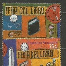 Sellos: ARGENTINA YVERT NUM. 2080/2081 SERIE COMPLETA USADA. Lote 235255405