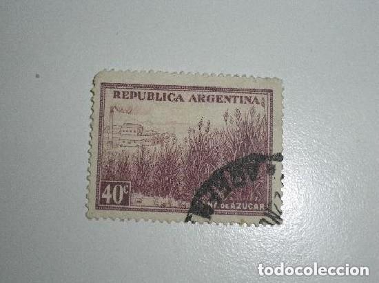 REPÚBLICA ARGENTINA - SELLO DE 40 CÉNTIMOS - USADO (Sellos - Extranjero - América - Argentina)
