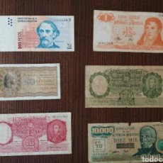 Sellos: LOTE BILLETES ARGENTINA. Lote 245465690