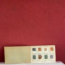 Sellos: ÁLBUM DE SELLOS ARGENTINA. COLECCION 128 PIEZAS CATALOGADOS . VER FOTOS. Lote 254105775