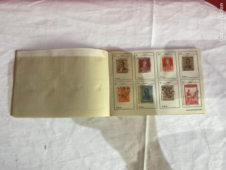 Sellos: Álbum de sellos Tepublica Argentina antiguos . Ver fotos - Foto 6 - 261795265