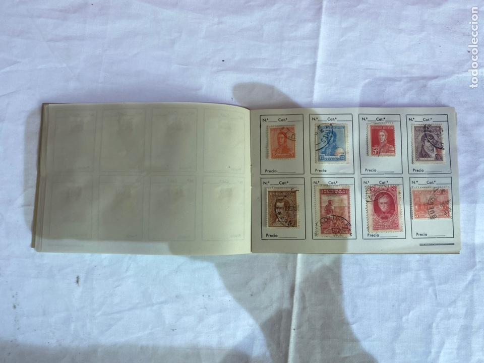 Sellos: Álbum de sellos Tepublica Argentina antiguos . Ver fotos - Foto 11 - 261795265