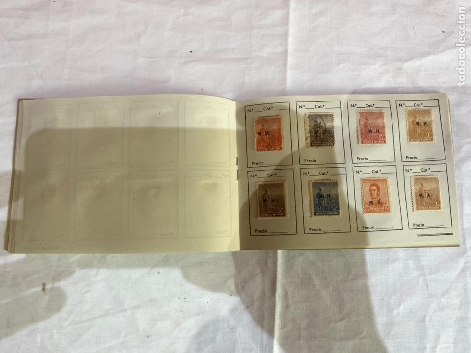 Sellos: Álbum de sellos Tepublica Argentina antiguos . Ver fotos - Foto 12 - 261795265