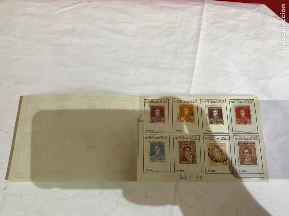 Sellos: Álbum de sellos antiguos argentina catalogados. Coleccion 130 sellos . Ver fotos - Foto 9 - 261806135