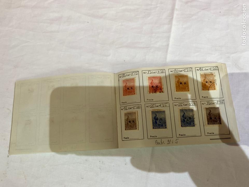Sellos: Álbum de sellos antiguos argentina catalogados. Coleccion 130 sellos . Ver fotos - Foto 13 - 261806135