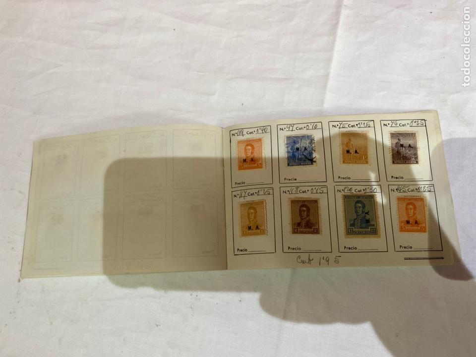 Sellos: Álbum de sellos antiguos argentina catalogados. Coleccion 130 sellos . Ver fotos - Foto 14 - 261806135