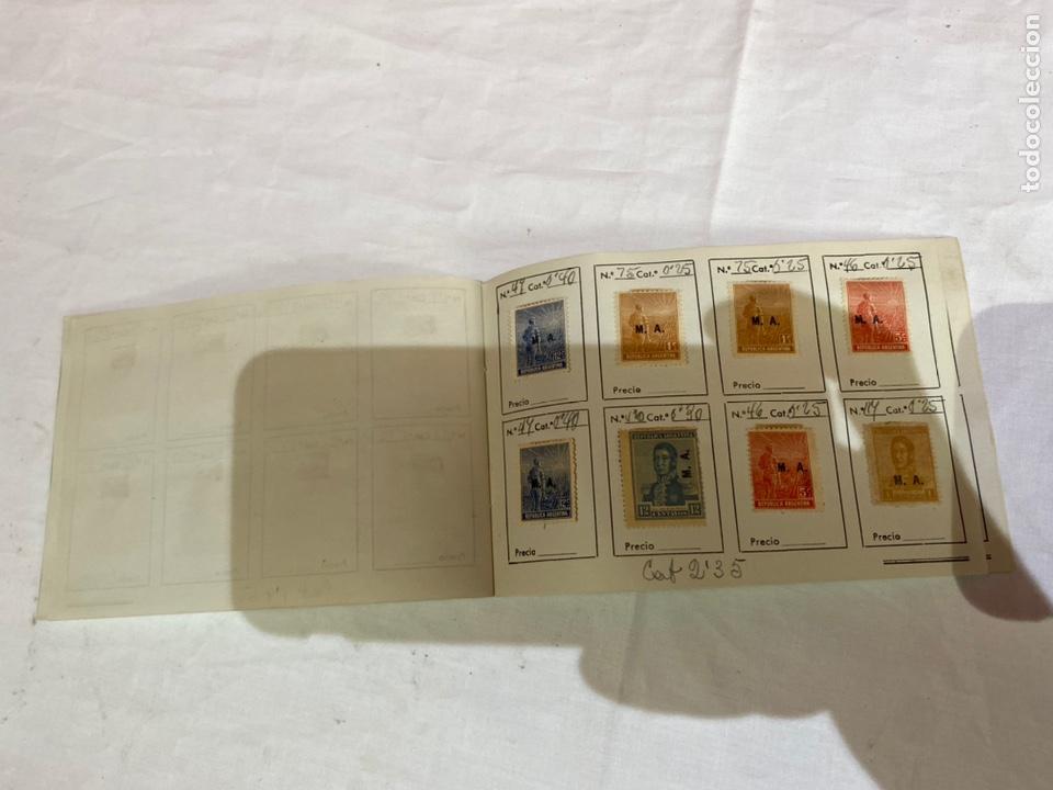 Sellos: Álbum de sellos antiguos argentina catalogados. Coleccion 130 sellos . Ver fotos - Foto 15 - 261806135