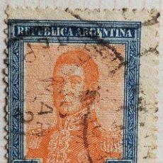 Sellos: SELLO › ARGENTINA 1917 JOSÉ FRANCISCO DE SAN MARTÍN (1778-1850). Lote 261999460