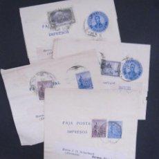 Sellos: 4X ARGENTINA - ALEMANIEN VOLTORIO DE DESPACHO DE PERIÓDICOS FAJA POSTAL IMPRESOS APROX. 1908. Lote 267842939