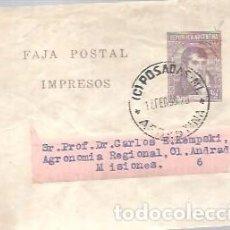 Sellos: ENTERO POSTAL FAJA PARA REVISTA S O PERIODICOS. Lote 270193173