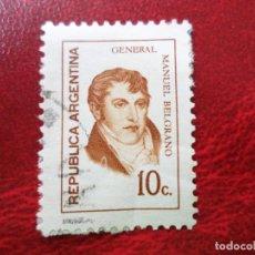 Sellos: *ARGENTINA, 1973, MANUEL BELGRANO, YVERT 948. Lote 270876688