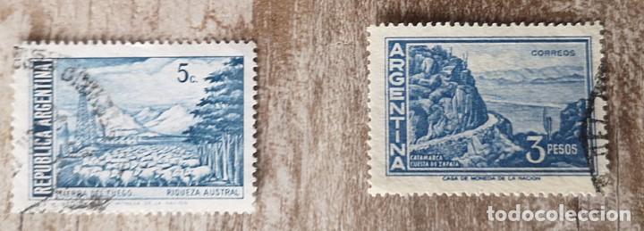 ARGENTINA - 2 SELLOS USADO (Sellos - Extranjero - América - Argentina)