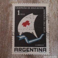 Sellos: ARGENTINA AÑO 1959 - CAMPAÑA DE EDUCACIÓN SANITARIA DE LA CRUZ ROJA. Lote 278503218