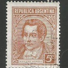 Sellos: ARGENTINA - SELLO CON MARIANO MORENO - USADOS. Lote 278633818