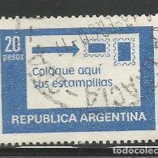 Sellos: REPÚBLICA ARGENTINA - 1978 - COLOQUE AQUI SUS ESTAMPILLAS - USADO. Lote 280111208