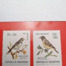 Sellos: SELLOS ARGENTINA,1974,SERIE COMPLETA 2 UNID. NUEVOS **,. Lote 286927568