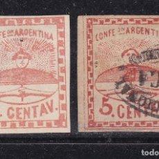 Sellos: FC3-172- ARGENTINA CLÁSICOS YT 1 Y 4 .. Lote 293837113