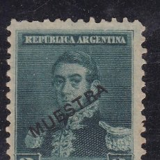 Sellos: FC3-172- ARGENTINA YT 108 MUESTRA (*) SIN GOMA. Lote 293837753
