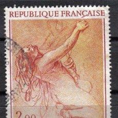 Sellos: FRANCIA 1973 - 2 F YVERT 1742 - PINTURA : CHARLES LE BRUN - USADO. Lote 8112467