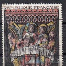Sellos: FRANCIA 1973 - 2 F YVERT 1741 - CAPITEL DE LA CENA - USADO. Lote 8112906