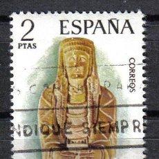 Sellos: ESPAÑA 1974 2 P EDIFIL 2177. ARTE IBERICO : DAMA CERRO DE LOS SANTOS (ALBACETE). Lote 8146174
