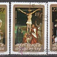 Timbres: BURUNDI, PASCUA FLORIDA 1978, PINTURAS DE CARAVAGGIO, RENI ..., AEREOSUSADOS. Lote 13114641