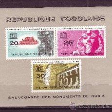 Sellos: TOGO HB 11*** - AÑO 1964 - SALVAGUARDIA DE LOS MONUMENTOS DE NUBIA. Lote 21307407