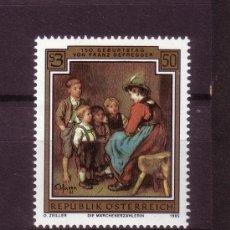 Timbres: AUSTRIA 1638*** - AÑO 1985 - PINTURA - 150º ANIVERSARIO DEL NACIMIENTO DEL PINTOR FRANZ DEFREGGER. Lote 25473132