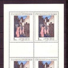 Timbres: CHECOSLOVAQUIA 2512 HB*** - AÑO 1982 - PINTURA - OBRA DE JOSEF SIMA. Lote 28267560