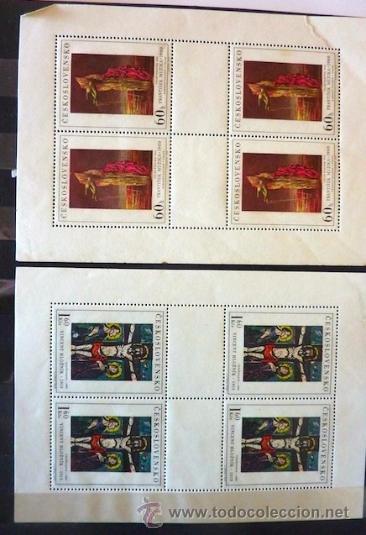 Sellos: Lote 250 sellos nuevos. Países exóticos (Bhutan, Yemen,etc.). Arte / pintura / Napoleón. 1968 - 1970 - Foto 15 - 33850271