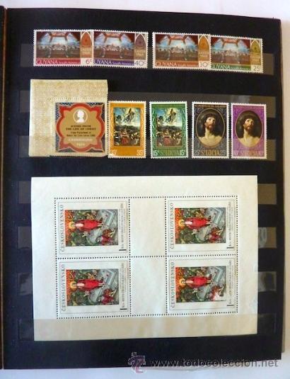 Sellos: Lote 250 sellos nuevos. Países exóticos (Bhutan, Yemen,etc.). Arte / pintura / Napoleón. 1968 - 1970 - Foto 16 - 33850271