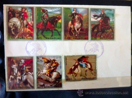 Sellos: Lote 250 sellos nuevos. Países exóticos (Bhutan, Yemen,etc.). Arte / pintura / Napoleón. 1968 - 1970 - Foto 18 - 33850271