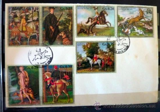 Sellos: Lote 250 sellos nuevos. Países exóticos (Bhutan, Yemen,etc.). Arte / pintura / Napoleón. 1968 - 1970 - Foto 21 - 33850271