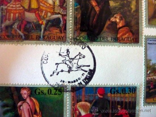 Sellos: Lote 250 sellos nuevos. Países exóticos (Bhutan, Yemen,etc.). Arte / pintura / Napoleón. 1968 - 1970 - Foto 22 - 33850271
