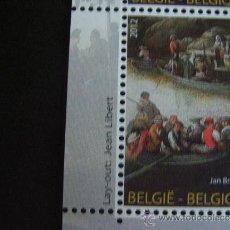 Sellos: BELGICA Nº YVERT 4236*** AÑO 2012.PINTURA. BRUEGHEL. EMISION CONJUNTA CON MONACO. Lote 210698637